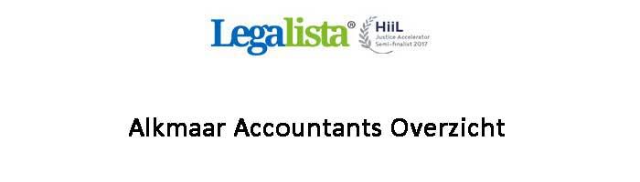 Alkmaar Accountants Overzicht Administratiekantoren