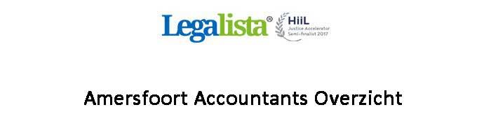 Amersfoort Accountants Overzicht Administratiekantoren