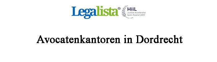 Dordrecht Advocaten Overzicht Advocatenkantoren
