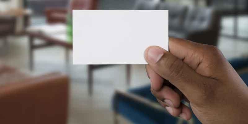 Visitekaartje Voordelen Advies en Tips